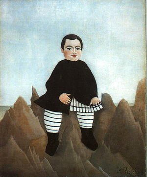 Henri Julien Rousseau - Boy on the Rocks 1895-97