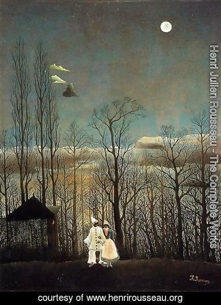 Henri Julien Rousseau - A Carnival Evening