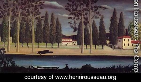 Henri Julien Rousseau - River Bank