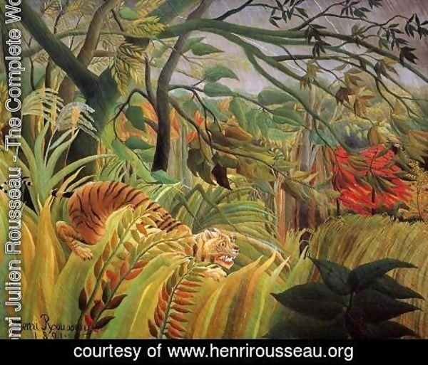 Henri Julien Rousseau - Surprise!