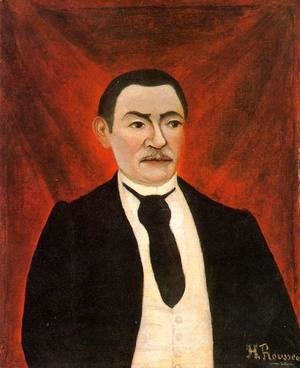 Henri Julien Rousseau - Portrait of Monsieur S