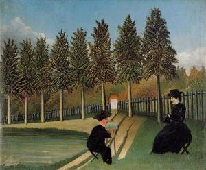 Henri Julien Rousseau - The Painter and His Wife