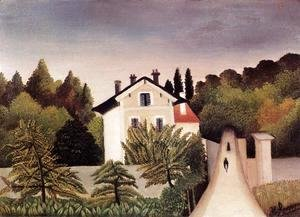 Henri Julien Rousseau - House on the Outskirts of Paris