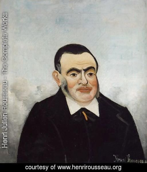 Henri Julien Rousseau - Portrait of a Man