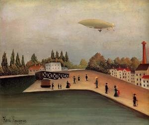 Henri Julien Rousseau - View of the Quai d'Ovry