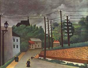 Henri Julien Rousseau - View of Malakoff