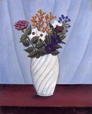 Henri Julien Rousseau - Bouquet of Flowers II