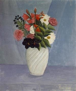 Henri Julien Rousseau - Bouquet of Flowers III