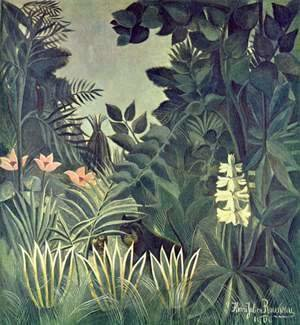 Henri Julien Rousseau - The Equatorial Jungle