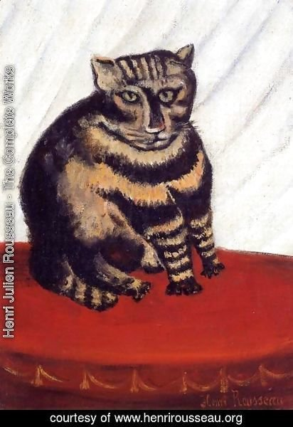 Henri Julien Rousseau - The Tabby