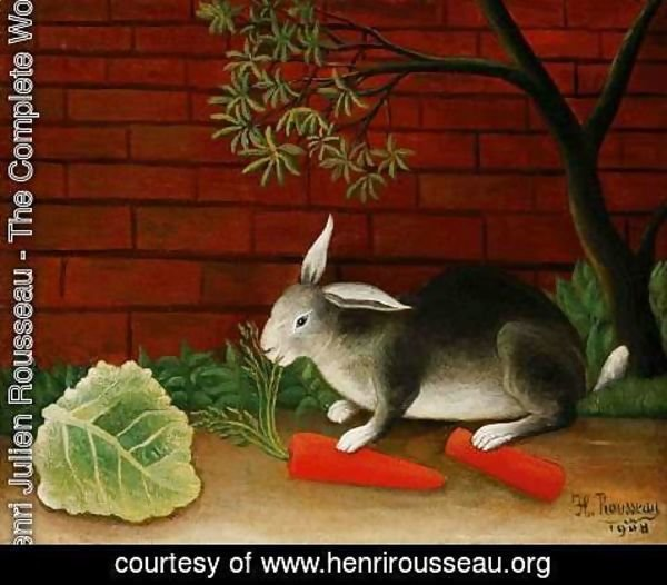 Henri Julien Rousseau - Rabbit