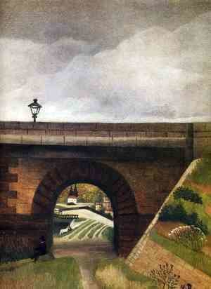 Henri Julien Rousseau - Sevres Bridge