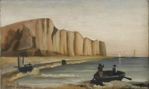 Henri Julien Rousseau - Cliffs