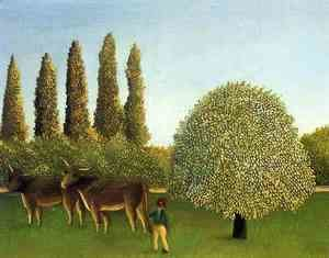 Henri Julien Rousseau - In the Fields