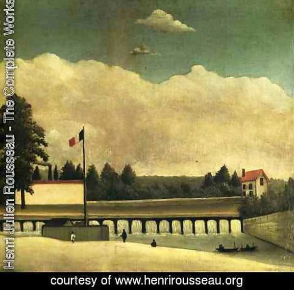 Henri Julien Rousseau - The Dam