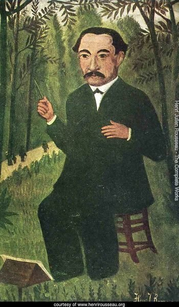 Henri Rousseau as Orchestra Conductor
