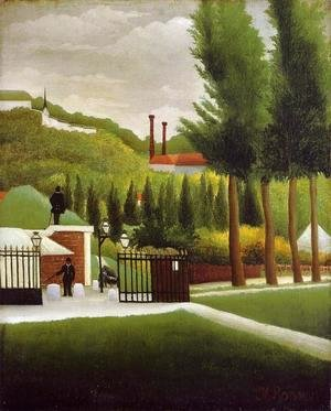 Henri Julien Rousseau - The Customs Post