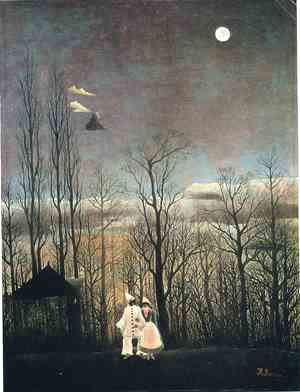 Henri Julien Rousseau - Carnival Evening