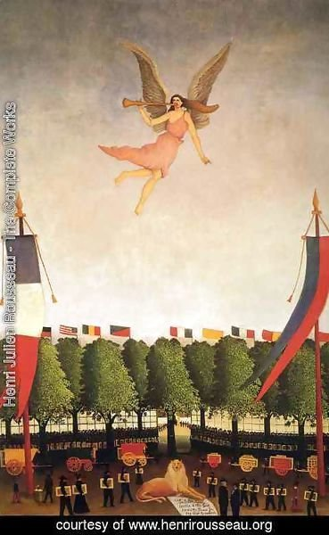 Henri Julien Rousseau - Liberty Inviting Artists To Take Part In The 22nd Exhibition Of The Societe Des Artistes Independants