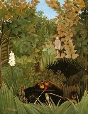 Henri Julien Rousseau - The Merry Jesters