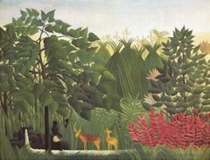 Henri Julien Rousseau - Waterfall