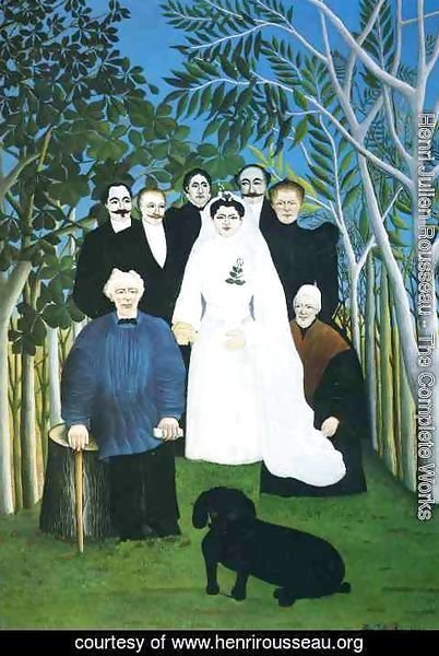 Henri Julien Rousseau - The Wedding