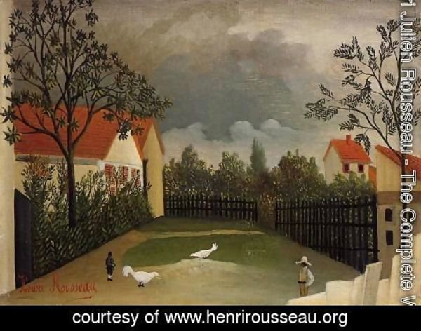 Henri Julien Rousseau - The Poultry Yard