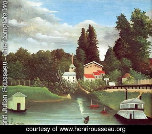 Henri Julien Rousseau - The Mill At Alfor
