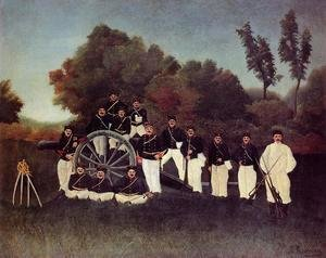 Henri Julien Rousseau - The Artilleryman