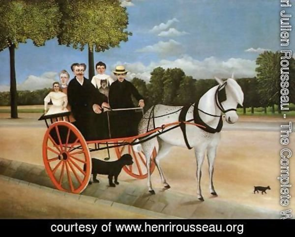 Henri Julien Rousseau - Old Juniors Cart