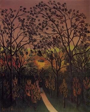 Henri Julien Rousseau - A Corner Of The Plateau Of Bellevue